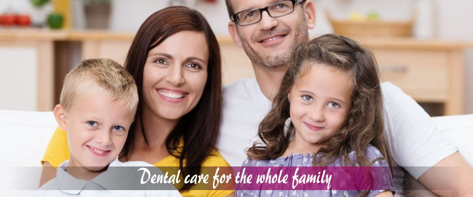 Dental care for the whole family – Family of four