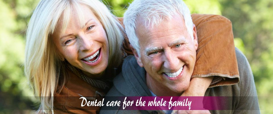 Dental care for the whole family – Old couple